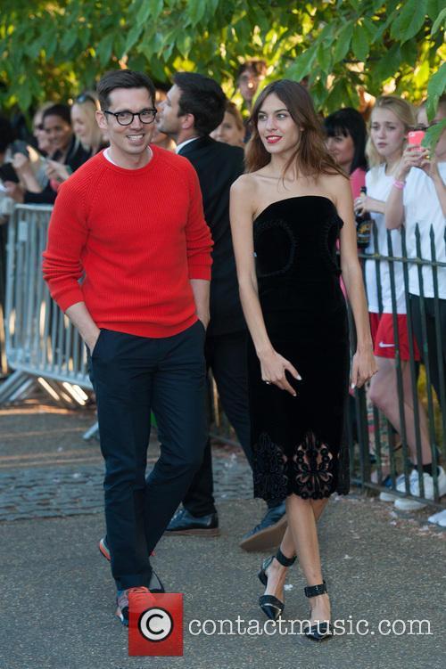 Erdem Moralioglu and Alexa Chung 5