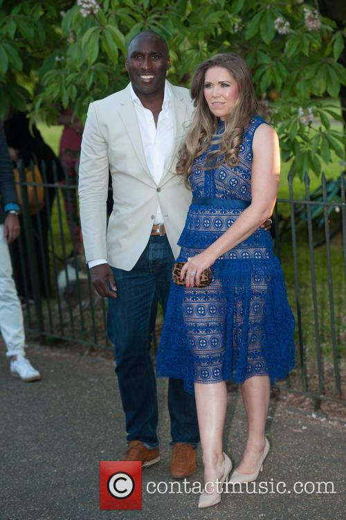 Sol Campbell and Fiona Barratt 4