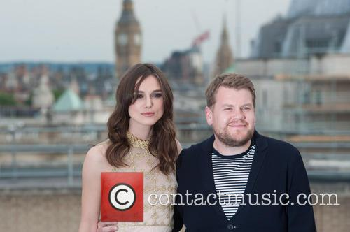 Keira Knightley and James Corden 6