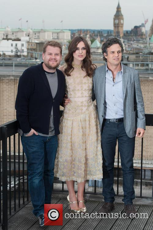 Keira Knightley, James Corden and Mark Ruffalo 3