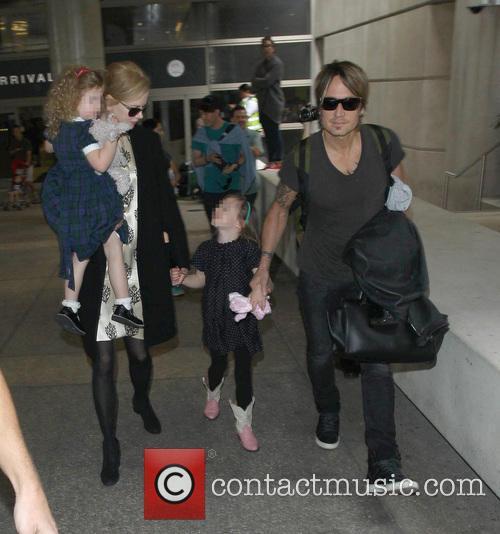 Nicole Kidman, Keith Urban, Sunday Rose Kidman Urban and Faith Margaret Kidman Urban 13