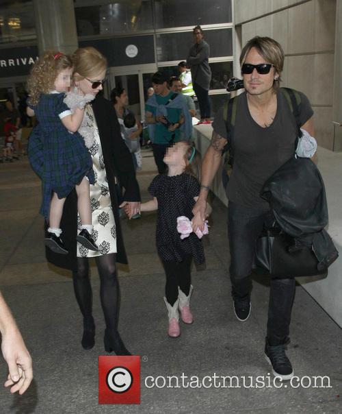 Nicole Kidman, Keith Urban, Sunday Rose Kidman Urban, Faith Margaret Kidman Urban