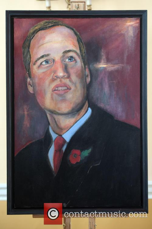 Duke of Cambridge portrait unveiling