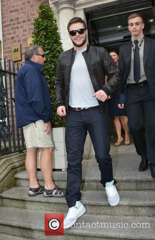 Jack Reynor seen leaving The Merrion Hotel
