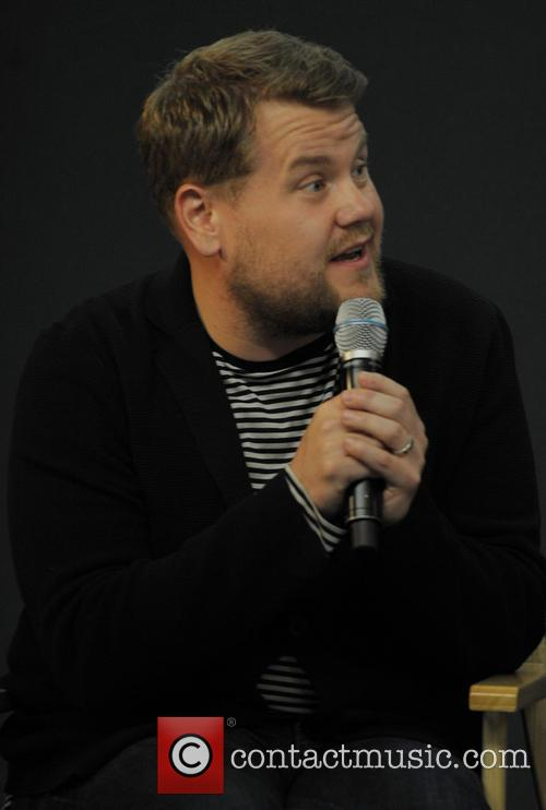 James Corden at the Apple Store