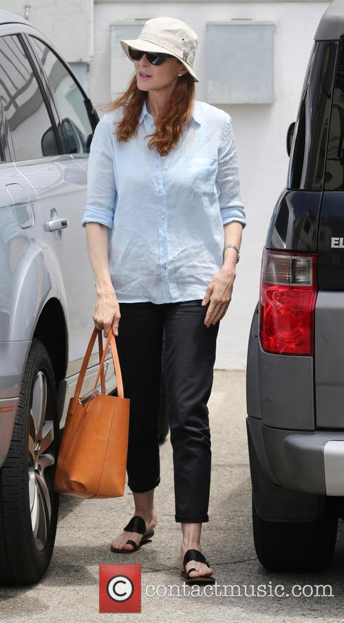 Marcia Cross In Pacific Palisades