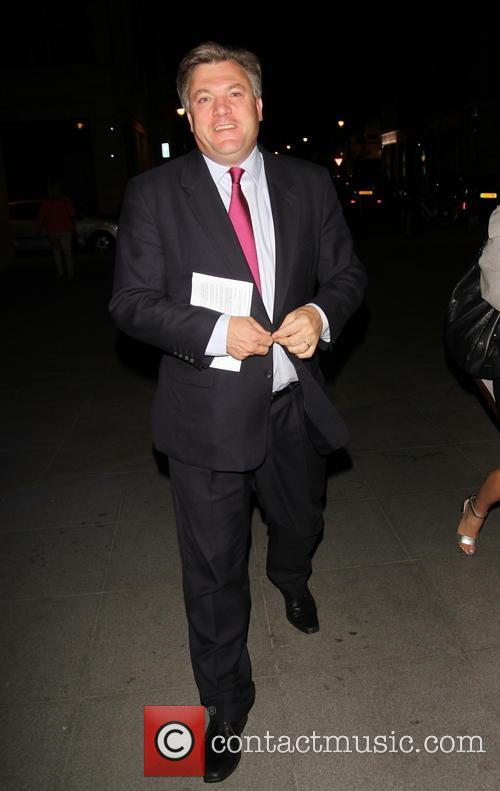 Shadow minister Ed Balls arrives at BBC Studios