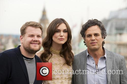James Corden, Keira Knightley and Mark Ruffalo 3