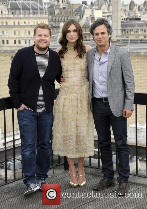 James Corden, Kiera Knightley and Mark Ruffalo 4