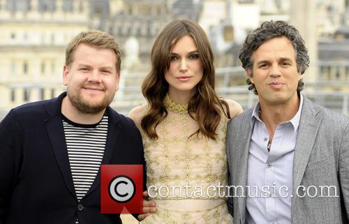 James Corden, Kiera Knightley and Mark Ruffalo 5