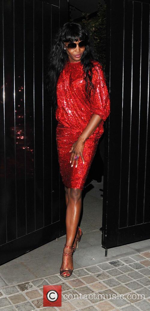 Naomi Campbell, UK