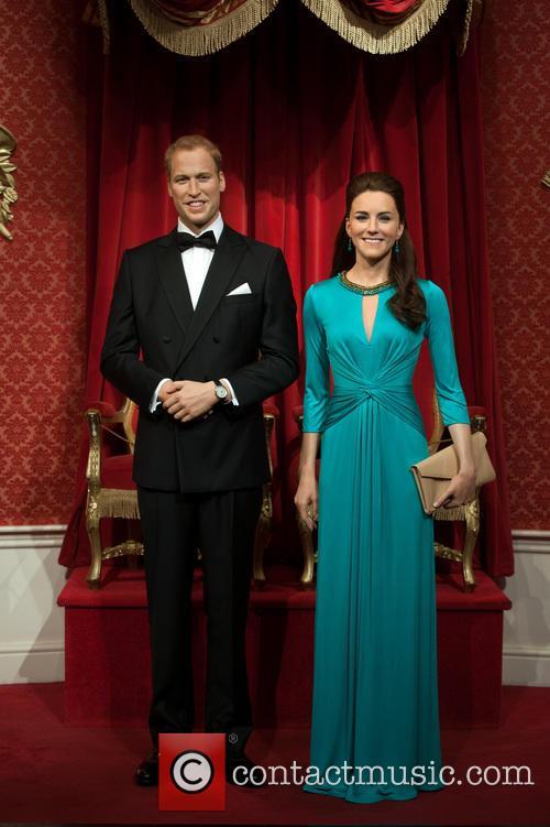 Duke and Duchess of Cambridge at Tussauds