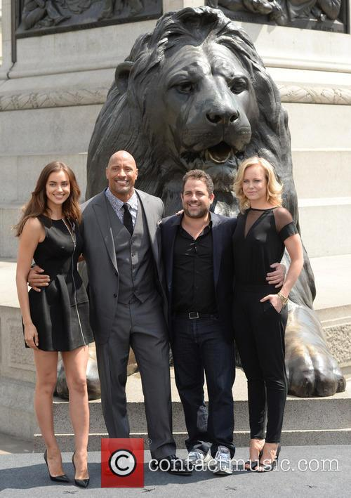Dwayne Johnson, Irina Shayk, Brett Ratner and Ingrid Bolso Berdal 3