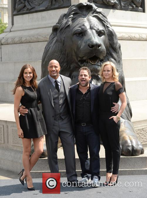 Dwayne Johnson, Irina Shayk, Brett Ratner and Ingrid Bolso Berdal 10