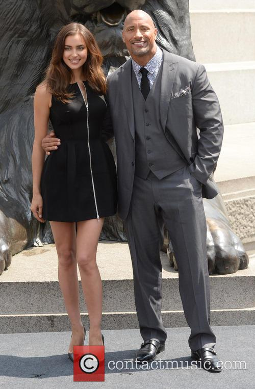 Dwayne Johnson and Irina Shayk 5