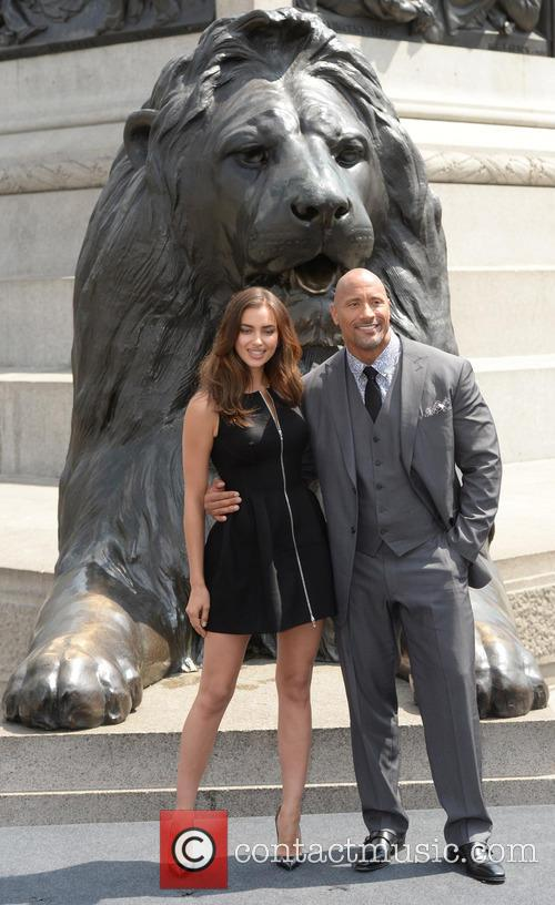Dwayne Johnson and Irina Shayk 9