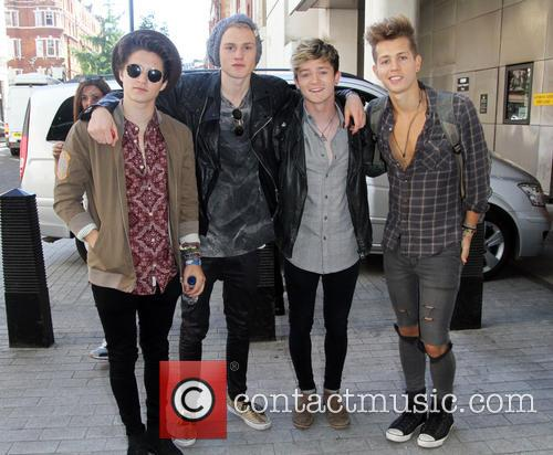 Celebrities arriving at the BBC Radio 1 studios