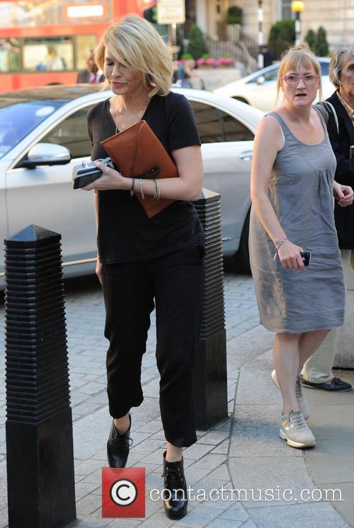Chelsea Handler leaving BBC Studios in London