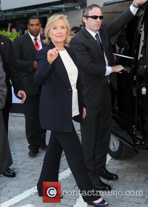 Hillary Rodham Clinton at BBC Studios