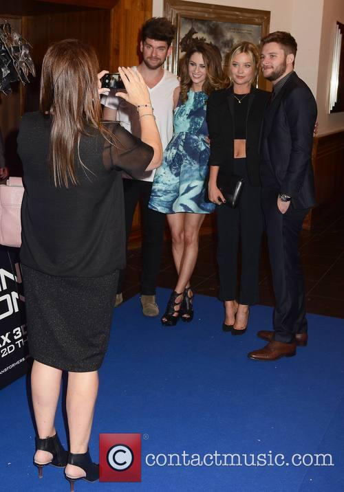 Eoghan Mcdermott, Madeline Mulqueen, Laura Whitmore and Jack Reynor 2