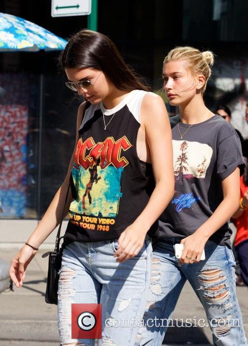 Kendall Jenner and Hailey Balwin 3