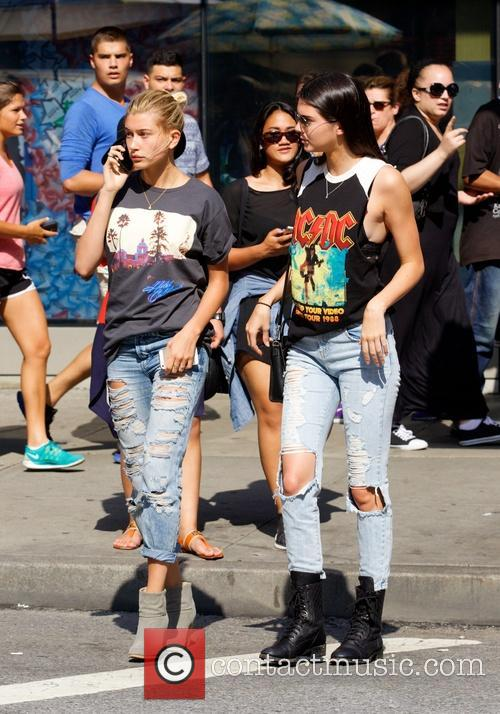 Kendall Jenner and Hailey Balwin 7