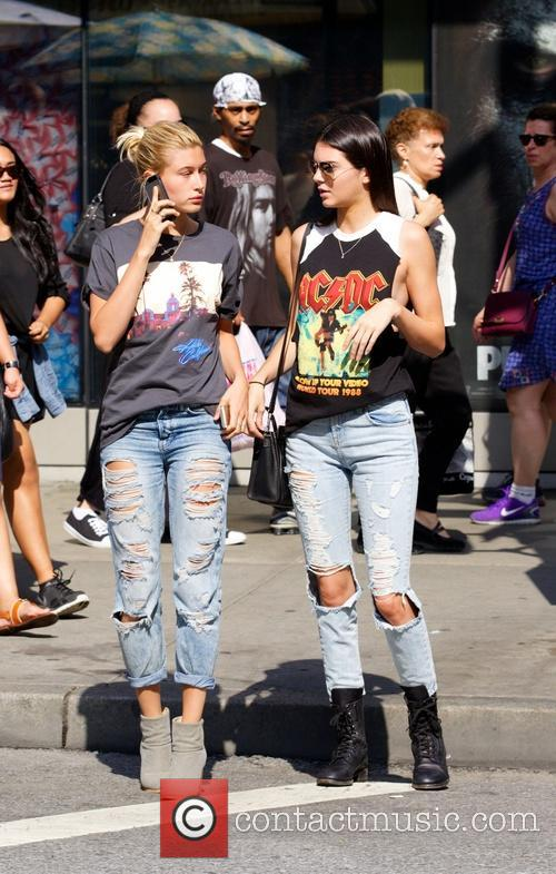 Kendall Jenner and Hailey Balwin 8