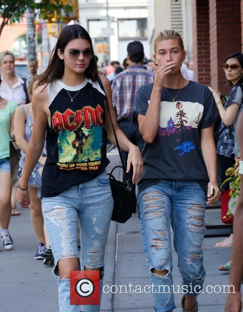 Kendall Jenner and Hailey Balwin 10