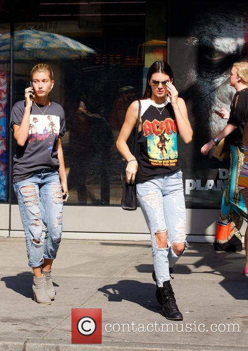 Kendall Jenner and Hailey Balwin 14