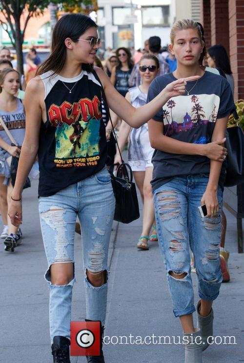 Kendall Jenner and Hailey Balwin 17