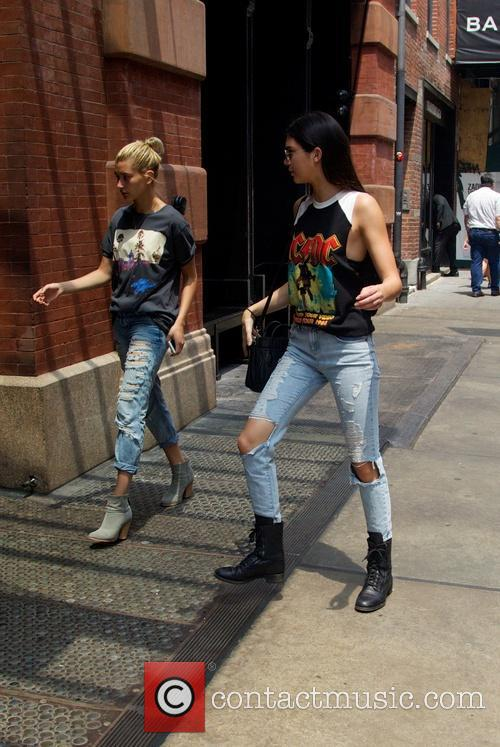 Kendall Jenner and Hailey Balwin 20