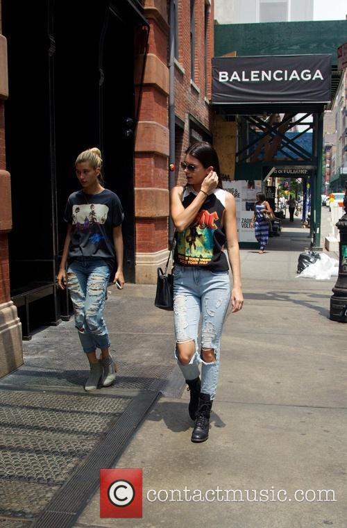 Kendall Jenner and Hailey Balwin 26