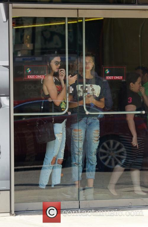 Kendall Jenner and Hailey Balwin 27