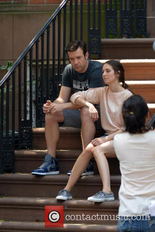 Jason Sudeikis and Alison Brie 5