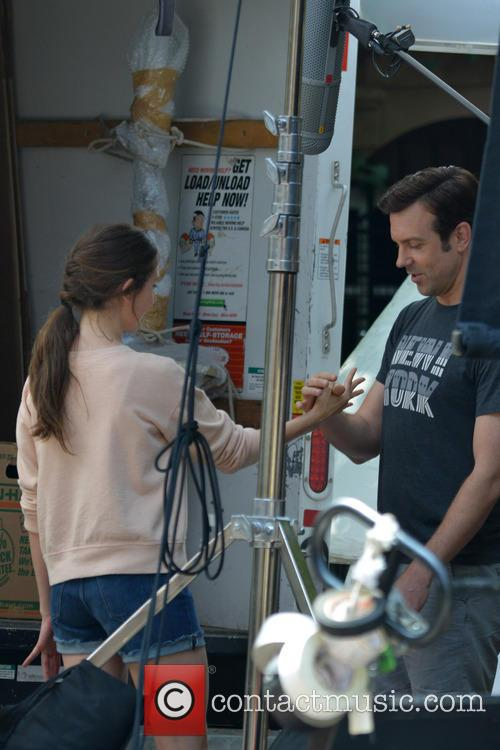 Jason Sudeikis and Alison Brie 9