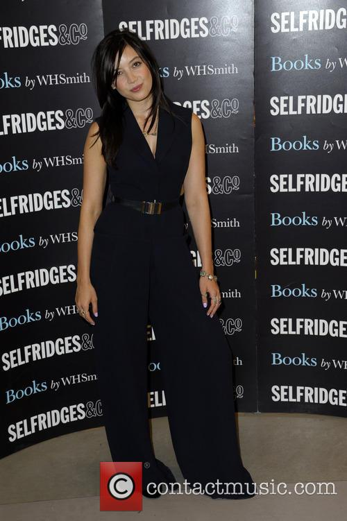 Daisy Lowe signs copies of her debut cookbook