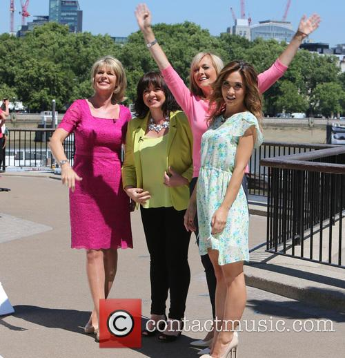 Loose Women, Coleen Nolan, Myleene Klass, Jane Moore and Ruth Langsford 5