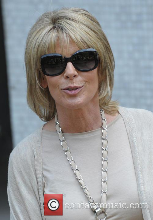 Ruth Langsford leaving the ITV studios