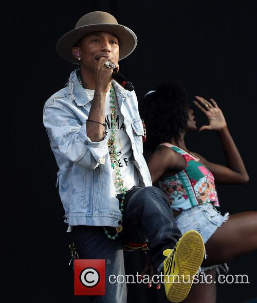 Pharrell Williams and Pharrell 8
