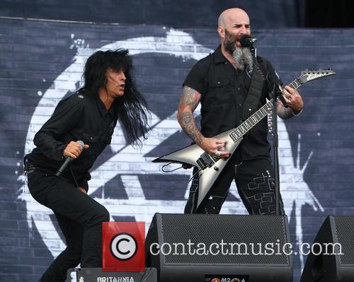 Anthrax, Scott Ian and Joey Belladonna 2