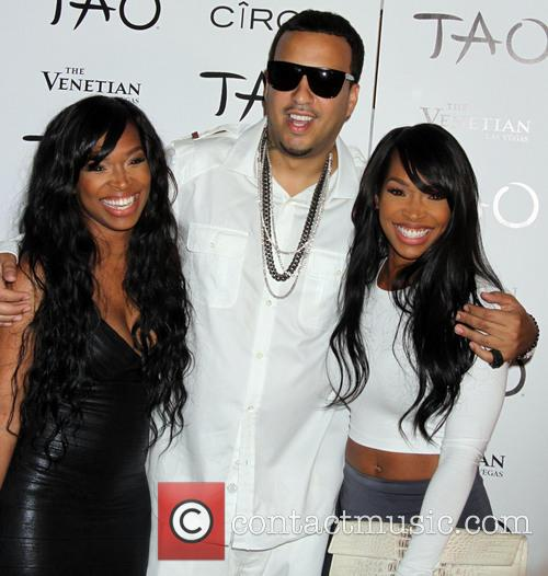 Khadijah Haqq, French Montana and Malika Haqq 3