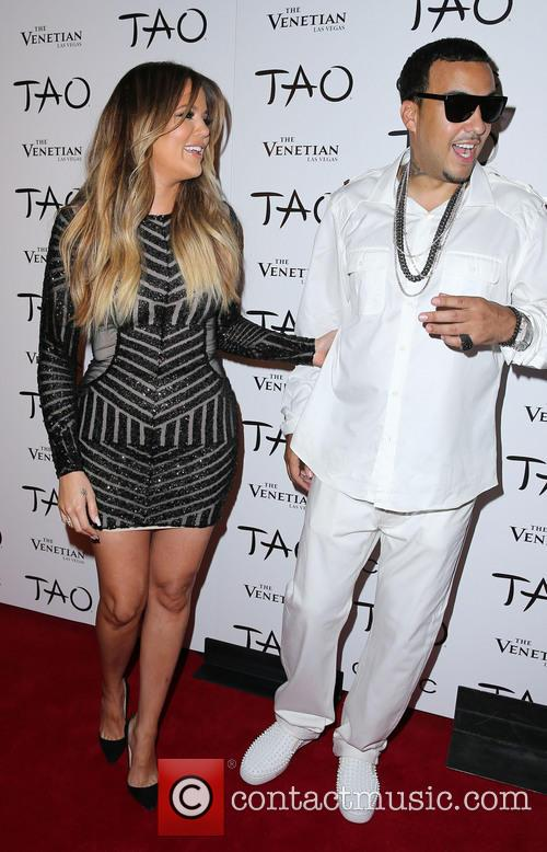 Khloe Kardashian and French Montana 2
