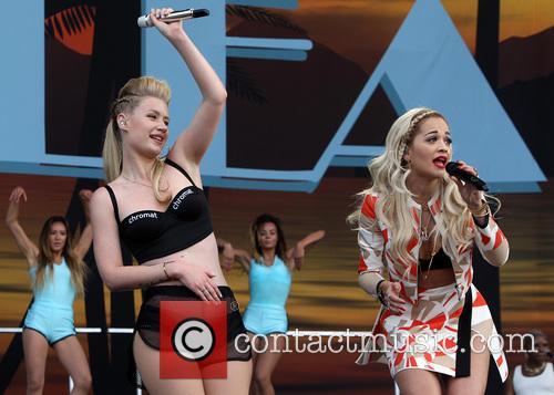 Iggy Azalea and Rita Ora 1