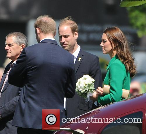 British Royals attend the ceremonial start of the...