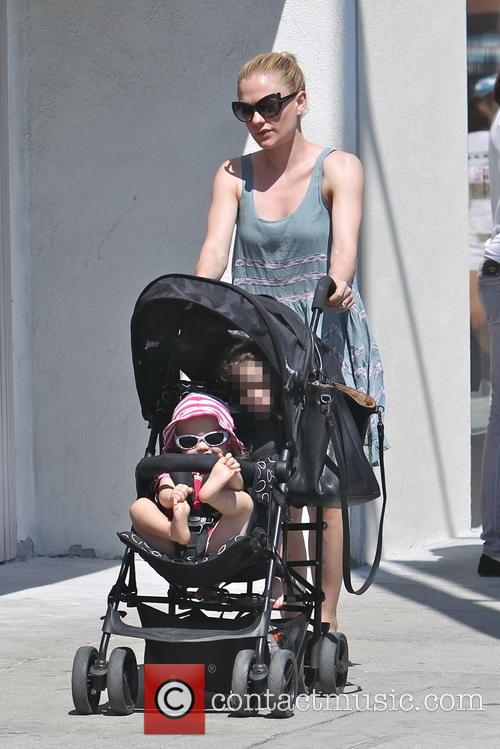 Anna Paquin, Charlie Moyer and Poppy Moyer 11