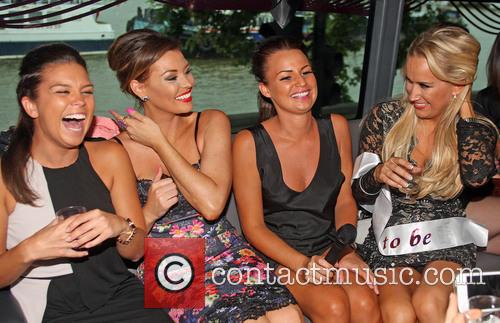 TOWIE's Leah Wright's hen party