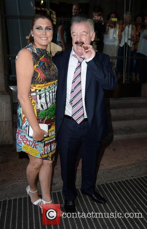 Les Dennis and Claire Nicholson