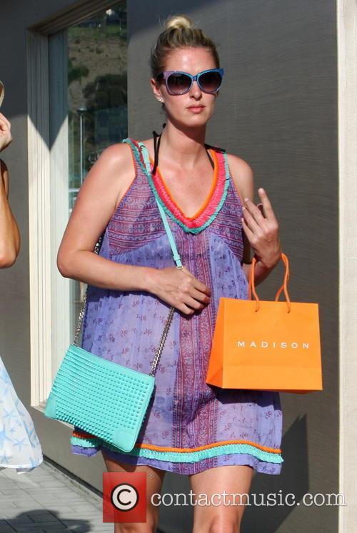 The Hilton sisters shop in Malibu