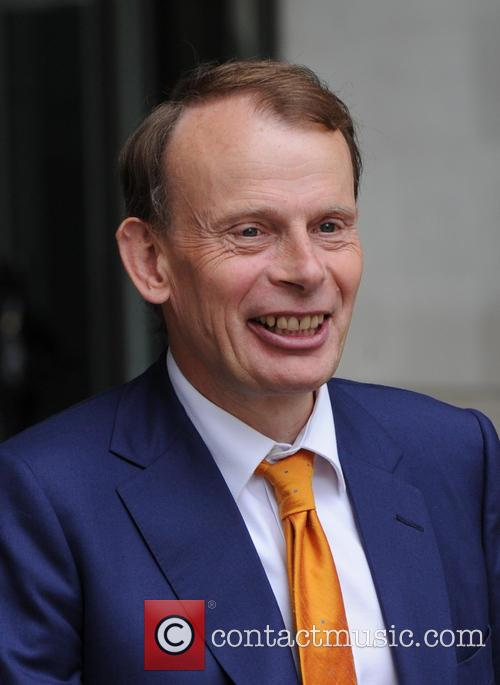 Andrew Marr out in London