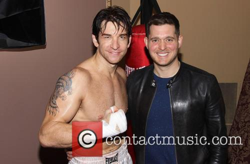 Andy Karl and Michael Buble 2